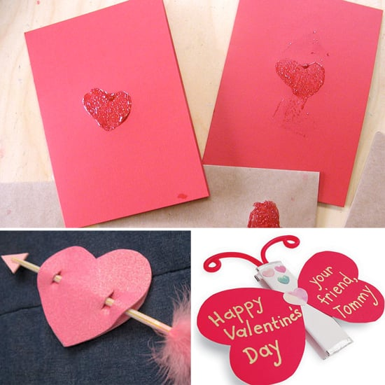 get crafty diy valentines day cards for tots - Valentine Day Cards For Kids