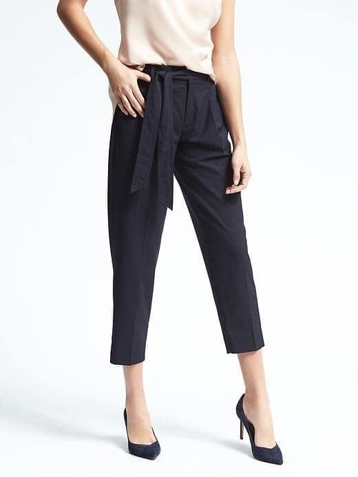 Avery-Fit Tie Stripe Pant ($98)