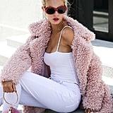 BerryGo Faux Fur Coat