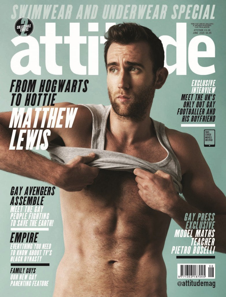 There's Now a Video of Neville Longbottom's Sexy, Half-Naked Photo Shoot