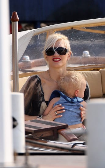 Gwen and family enjoy St Bart
