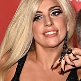Lady Gaga With Golden-Blond Hair