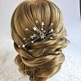 Bohemian Silver Hairpiece