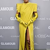 Would you wear Solange's futuristic ensemble?