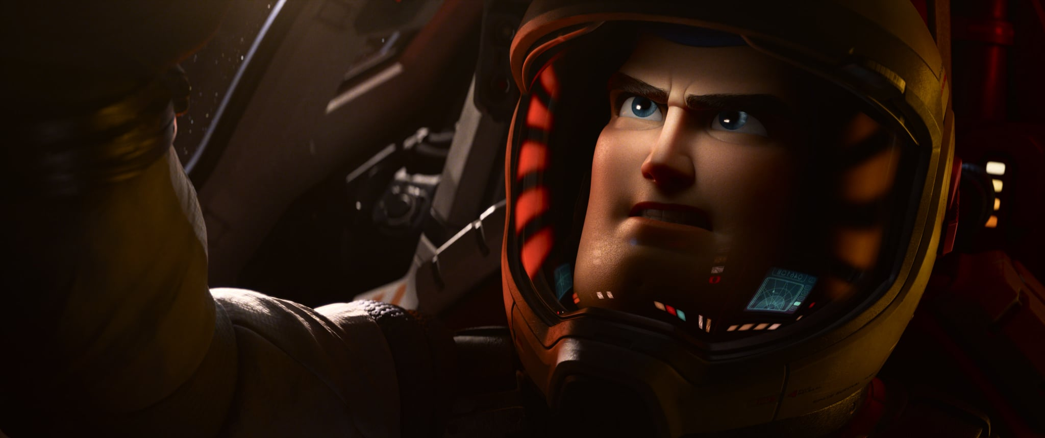 LIGHTYEAR, slated to open in theaters on June 17, 2022, is a sci-fi action-adventure and the definitive origin story of Buzz Lightyear (voice of Chris Evans)—the hero who inspired the toy. The film reveals how a young test pilot became the Space Ranger that we all know him to be today. © 2020 Disney/Pixar. All Rights Reserved.