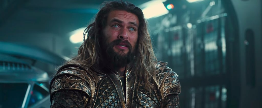Jason Momoa as Aquaman in Justice League Pictures