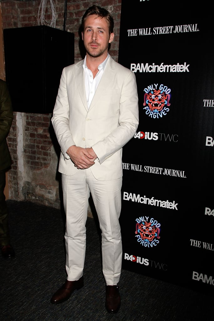 Ryan Gosling attended the Only God Forgives premiere in NYC.