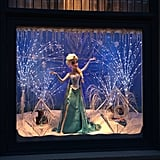 A Frozen window display this past Winter.