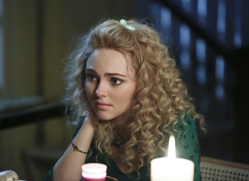 Check out Carrie's sweet knot bangle. Source: The CW