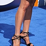 You can still shop Jen's exact Gianvito Rossi sandals on sale for $870.