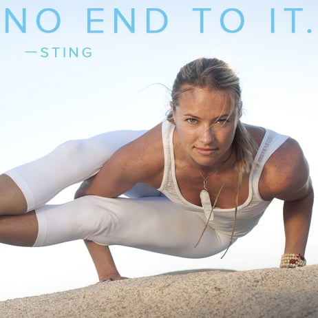Sting Quote About Yoga Popsugar Fitness
