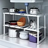 Do4U 2 Tiers Expandable Kitchen Storage