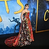 Taylor Swift Wears Oscar de la Renta at the Cats Premiere in NYC