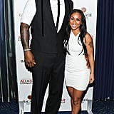 Shaquille O'Neal and Nicole Alexander