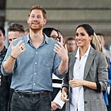 Prince Harry's Black Ring on Royal Tour in Australia 2018