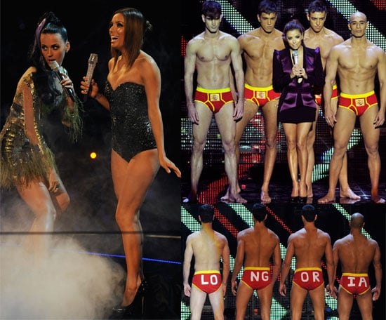 Pictures from the 2010 MTV EMAs Show and Performances
