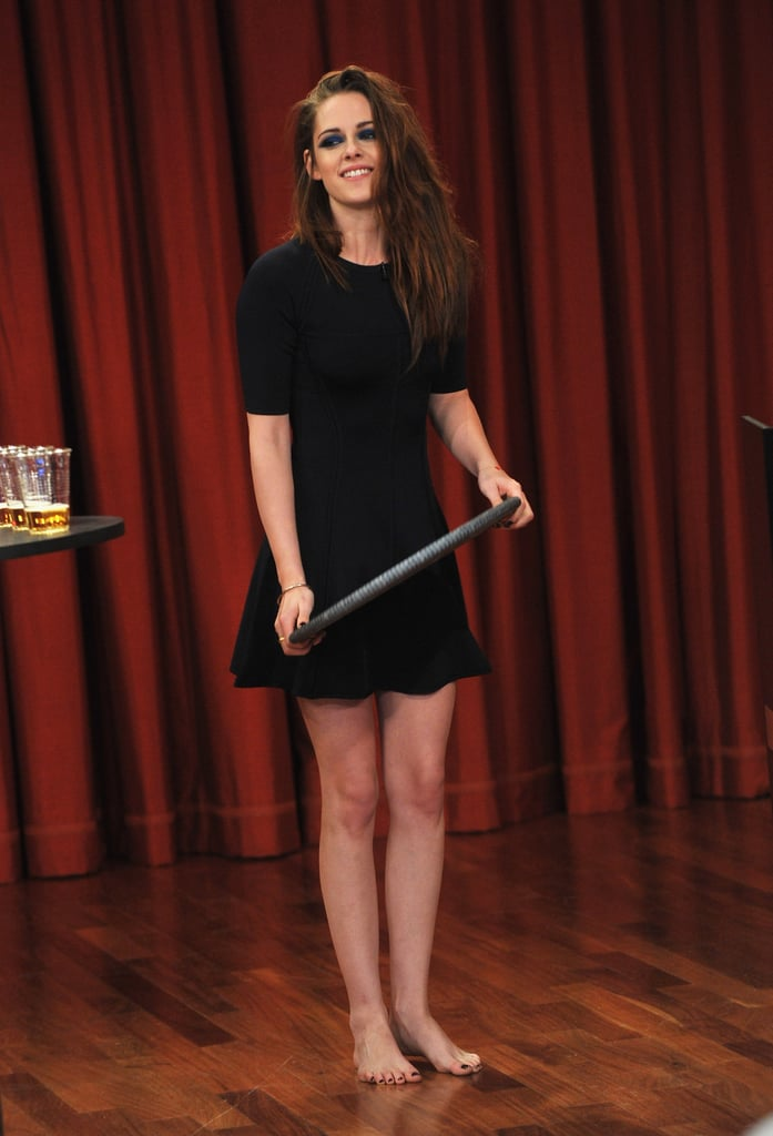 Kristen Stewart stepped out in NYC for Late Night With Jimmy Fallon.