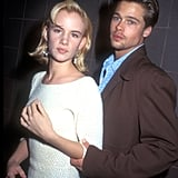 Juliette Lewis and Brad Pitt in 1991