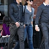 Ryan Reynolds and Olivia Wilde together in NYC.