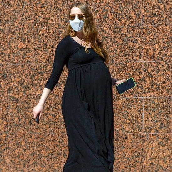 Emma Stone Wears Hatch Maternity Dress Like Meghan Markle