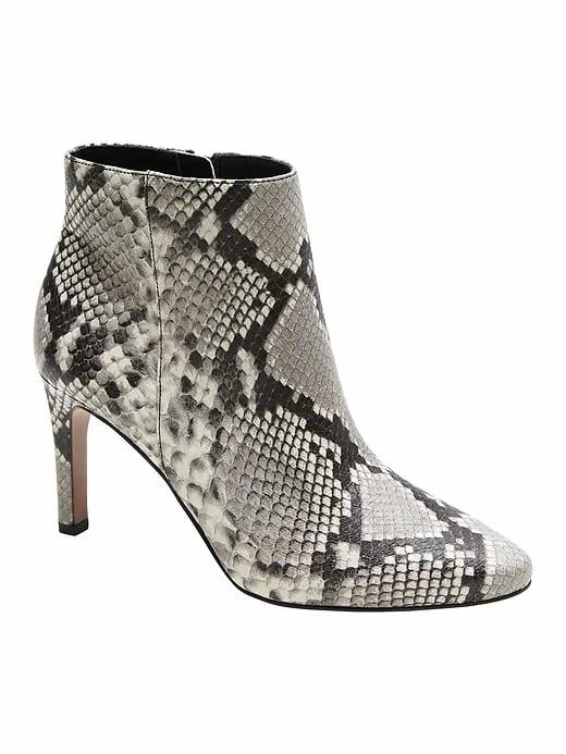 How to Style Snakeskin Boots