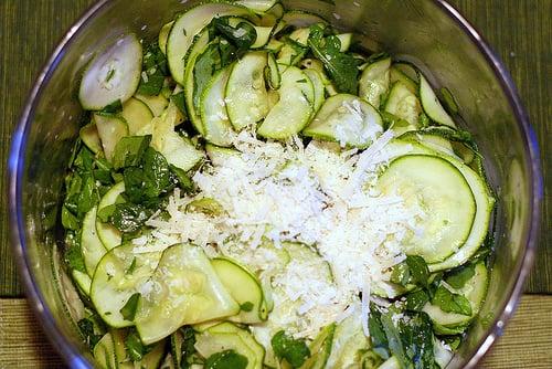 Yummy Link: Zucchini Carpaccio Salad