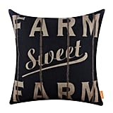 Burlap Pillowcase Throw ($13)