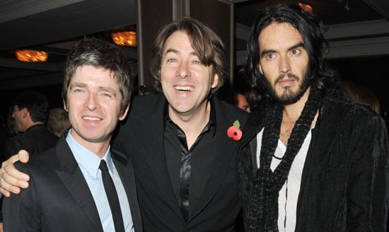 Gallery of Photos of Jonathan Ross, Russell Brand and Noel Gallagher at Music Industry Trusts' Award Ceremony Honouring Jonathan