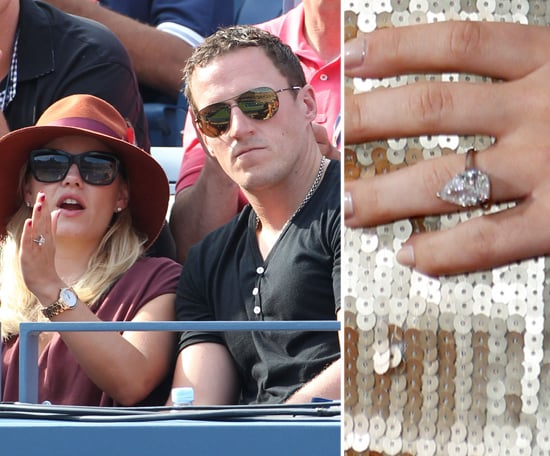 Elisha Cuthbert debuted her diamond from Dion Phaneuf in ...