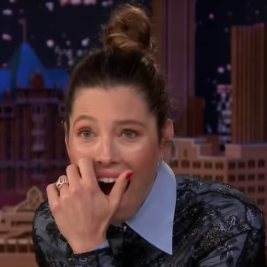 Jessica Biel Watches Old Video Where She Talks About *NSYNC