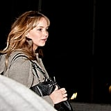 Jennifer Lawrence Landing at LAX Pictures
