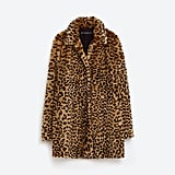 To give every outfit personality without even trying.  Leopard Faux Fur Coat ($129)