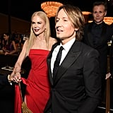 Nicole Kidman and Keith Urban at the 2020 Golden Globes