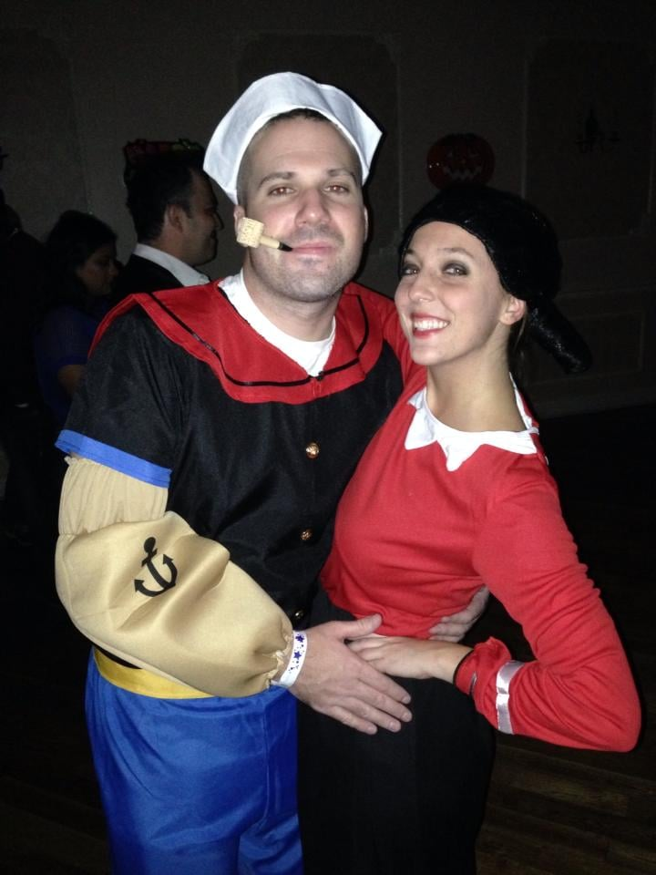 Olive Oyl and Popeye