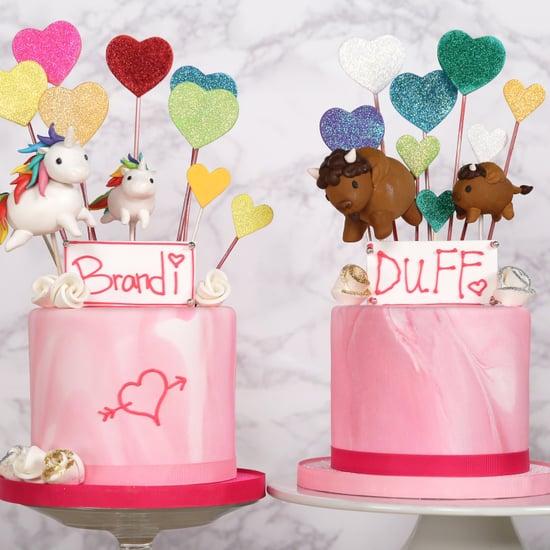 Glitter Funfetti Cake