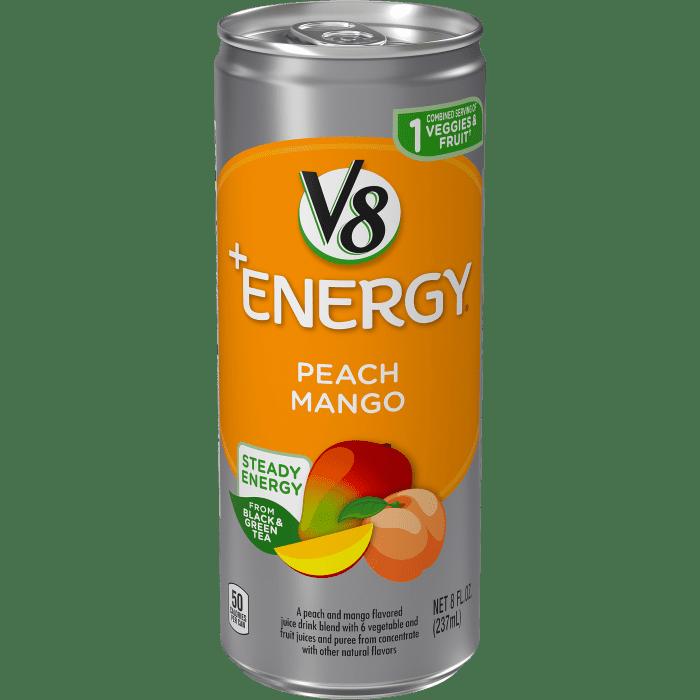 V8 +ENERGY® Peach Mango