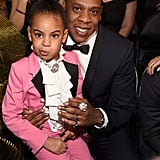 Blue Ivy Wore a Pink Gucci Suit to the Grammys