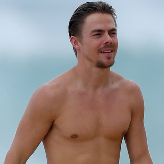 Derek Hough Shirtless in Hawaii December 2015
