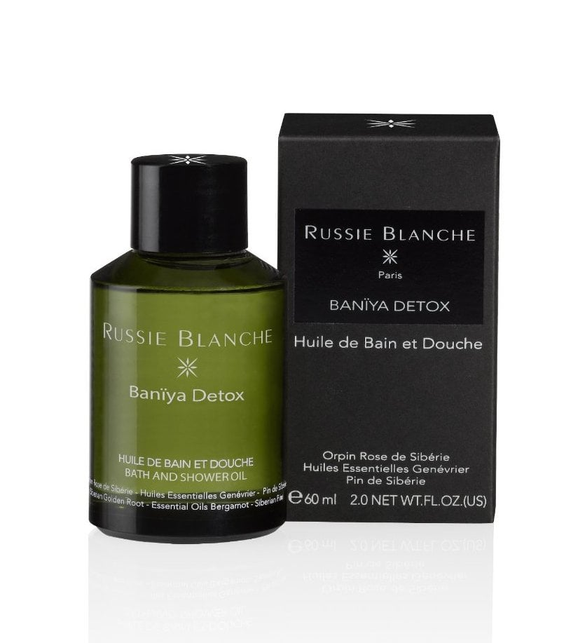 Russie Blanche Banya Detox Bath and Shower Oil