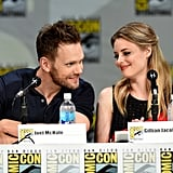 Joel McHale and Gillian Jacobs took the stage for their Community panel on Thursday.