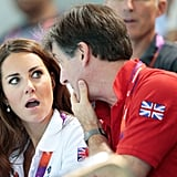 Great Britain ambassador Robin Cousins shocked Kate Middleton.