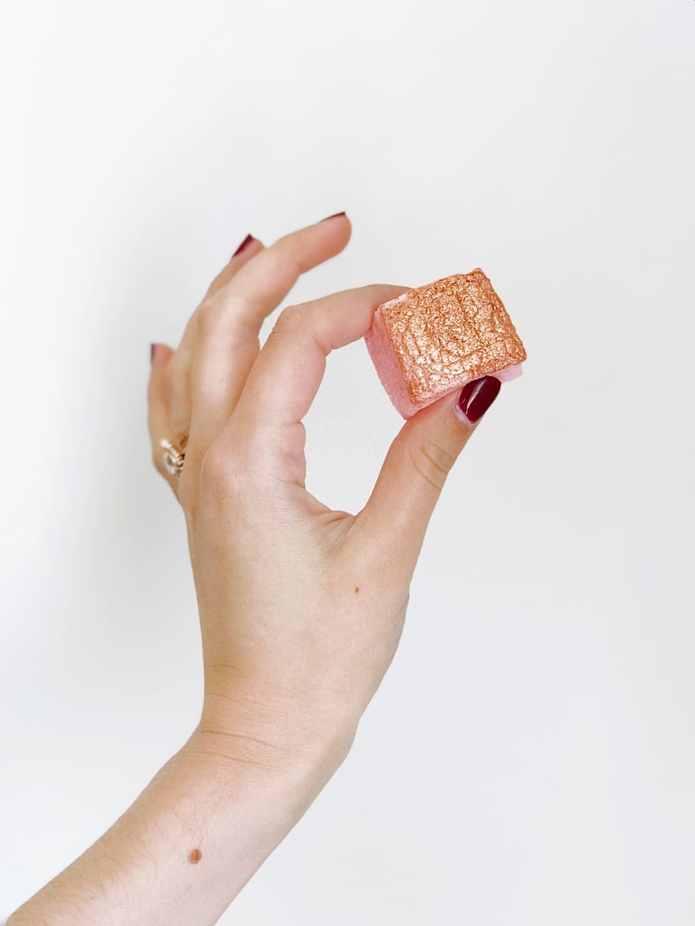 Rosé Glitter Marshmallows