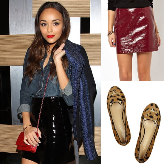 Ashley Madekwe Fall Shopping 2013