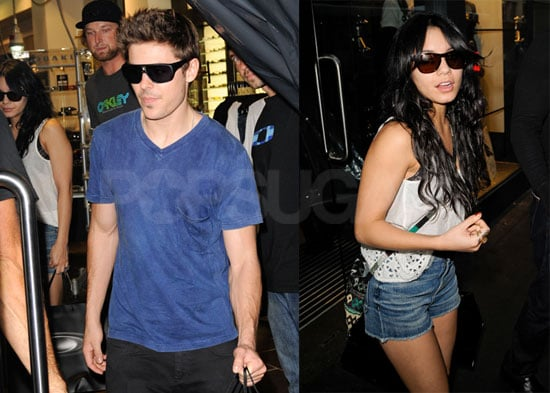 Photos of Zac and Vanessa