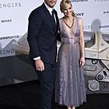 Chris Pratt and Anna Faris at LA