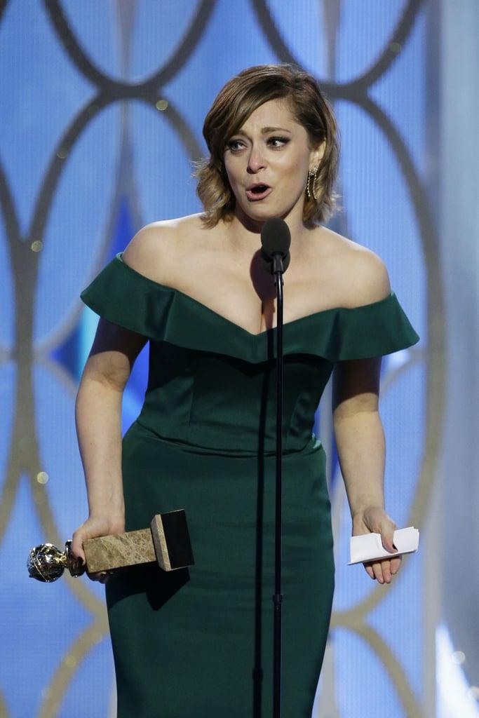 Rachel Bloom Won for Crazy Ex-Girlfriend, Cried