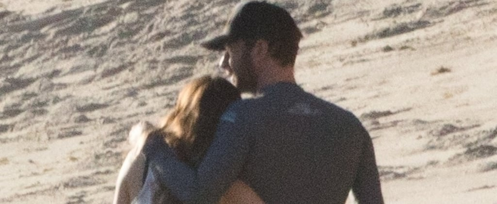 Chris Martin and Dakota Johnson at Malibu Beach January 2018