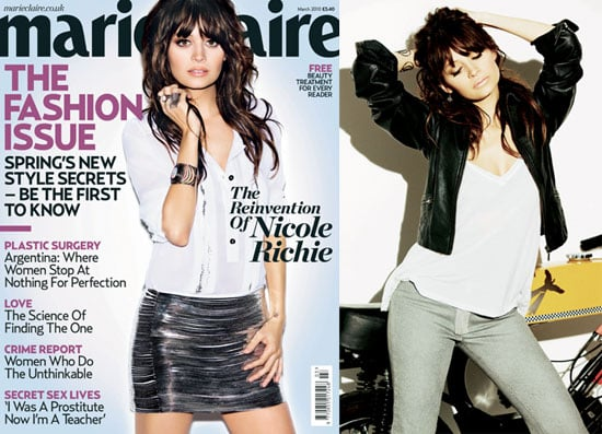 Photos and Quotes From Nicole Richie in Marie Claire UK 2010-02-01 11:00:22