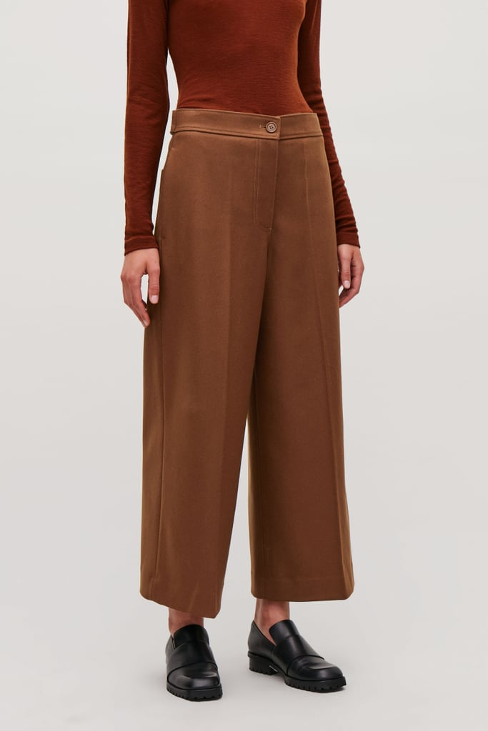 Cos Wide-Leg Wool Trousers