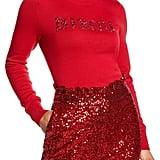 Halogen x Atlantic-Pacific Bisou Embellished Sweater